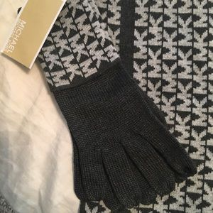 Michael Kors Accessories - Michael Kors gloves and scarf